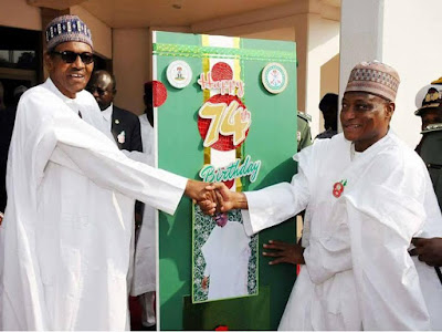 Exclusive Photos at the 74th Birthday Parade For President Buhari