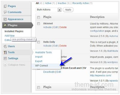 Cara posting artikel dengan teknik Bulk