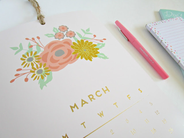 March Goals from Courtney's Little Things