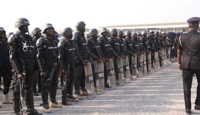 We're ready to die for you – Police to Ghanaians