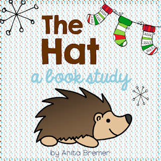 The Hat book study companion literacy activities for Kindergarten