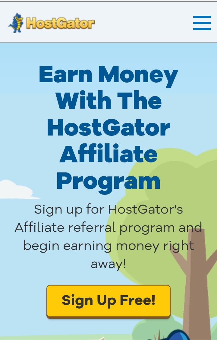 Hostgator Affiliate Program | Sign Up And Make Money In
