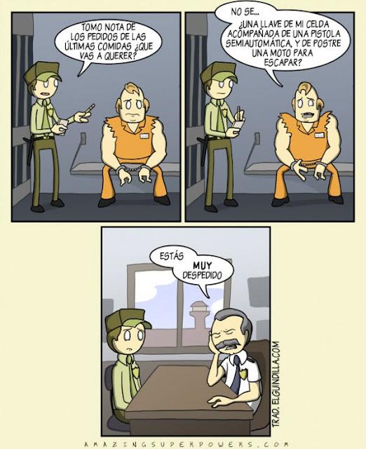 Meme de humor sobre tramas de novela negra