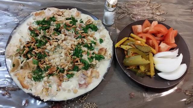 (Chickpea Fatteh(Fattet Hummus)