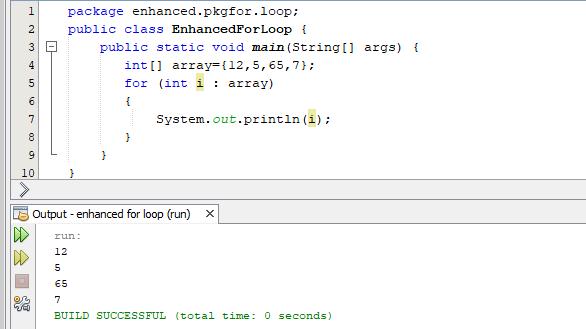 Enhanced for Loop (Lesson-21)