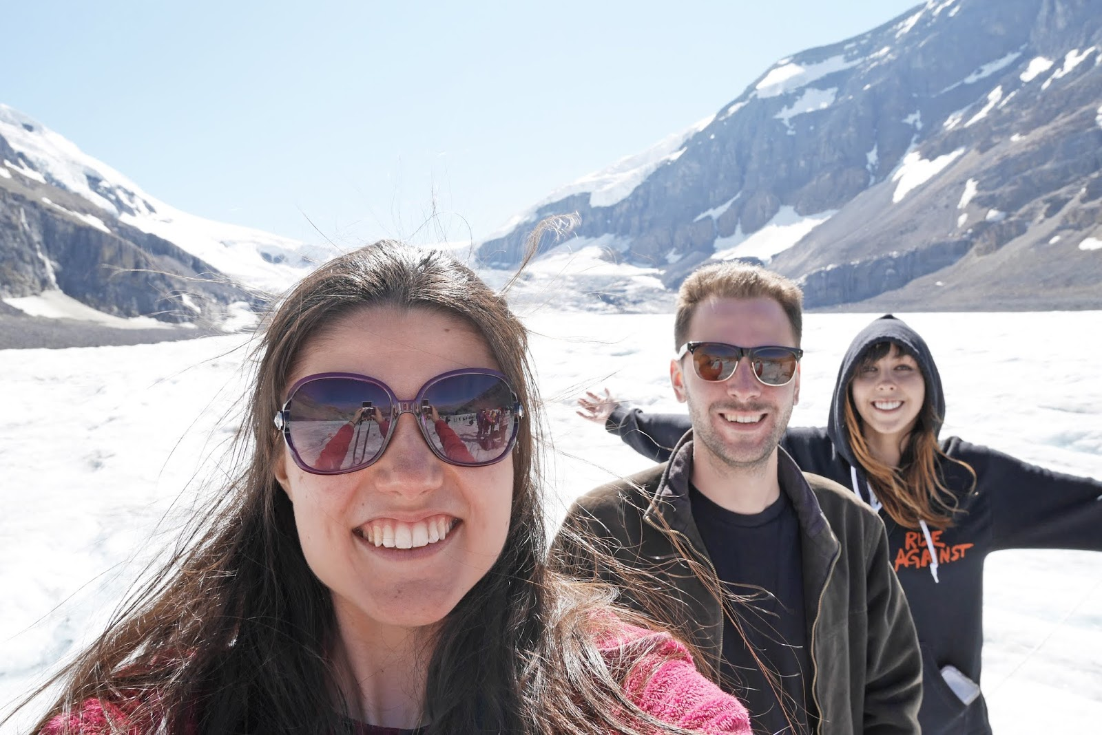 Columbia Icefield Glacier Adventure in Jasper National Park, Canada