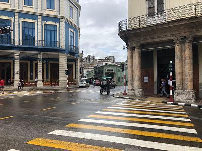 La Habana vieja. Paseo de Martí. Paseo del Prado