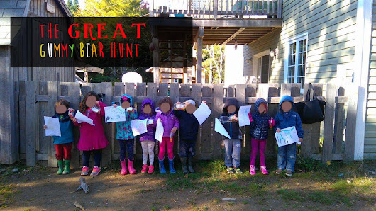 The Great Gummy Bear Hunt!