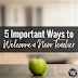 Five Important Ways to Welcome a New Teacher