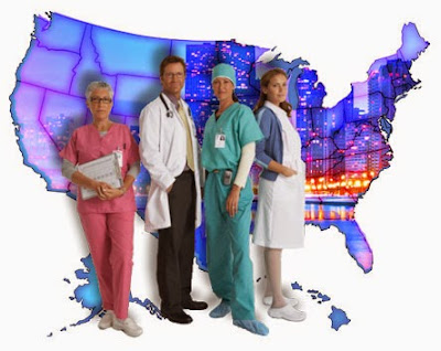 average salary of a traveling nurse practitioner