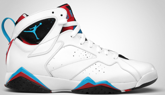 the best attitude d2796 bdb08  175.00 (limited release). Air Jordan 7 Retro (03 26 2011) 304775-105 White Orion  Blue-Black-Infrared  150.00