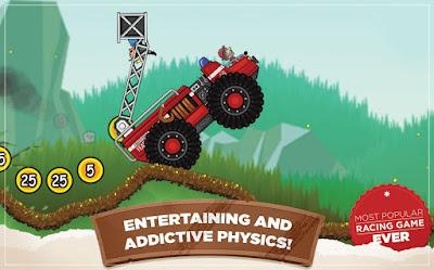 لعبة Hill Climb Racing