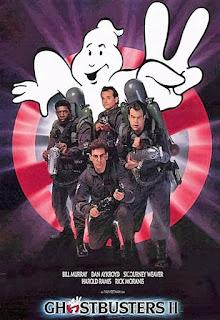 Cartel de la película de 1989, Los Cazafantasmas 2, Ghostbusters II