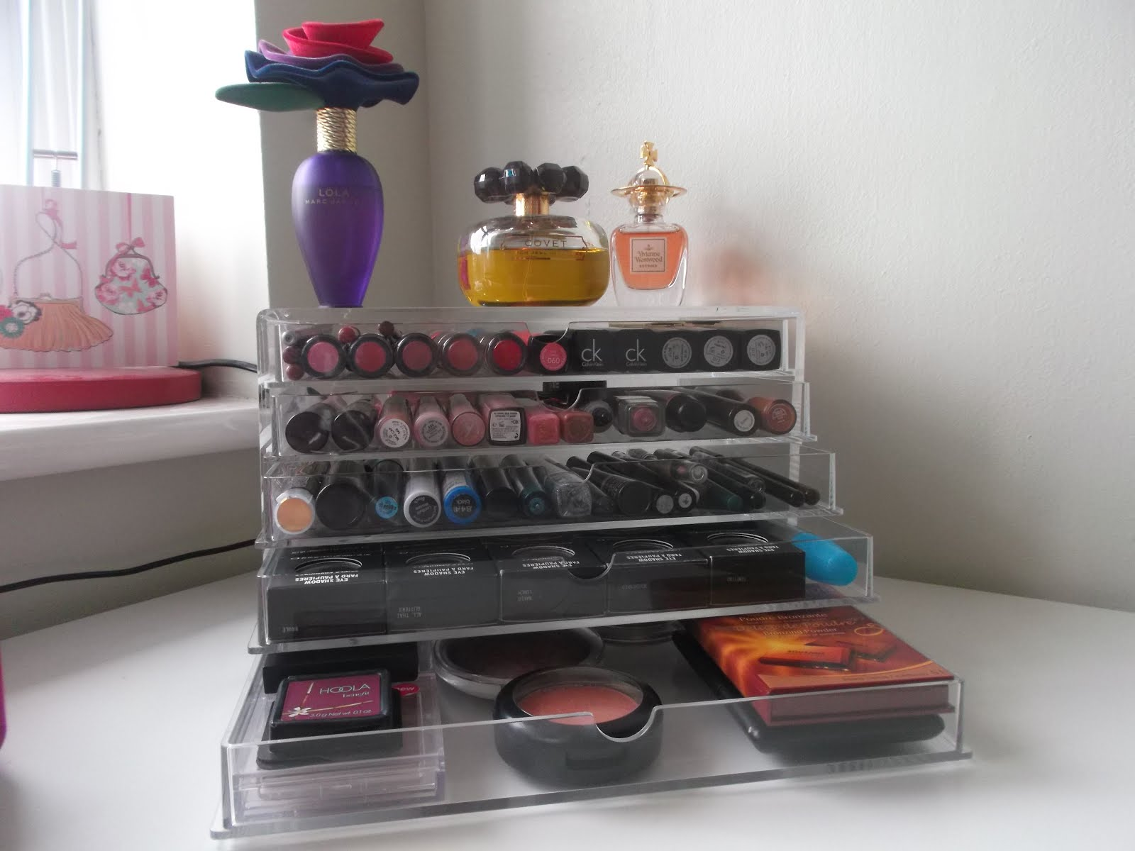 Muji Acrylic Makeup Storage Drawers Donna Dyble