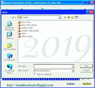 Repair Video Master Latest Version V2.65 Free Download