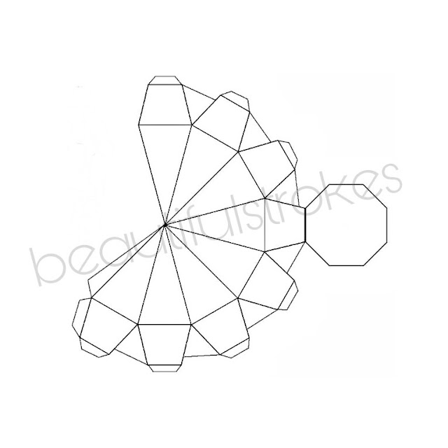 This is a graphic of Impeccable Diamond Template Printable