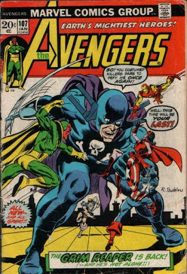 Avengers #107, The Grim Reaper returns