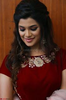 Actress Aathmika in lovely Maraoon Choli ¬  Exclusive Celebrities galleries 094.jpg