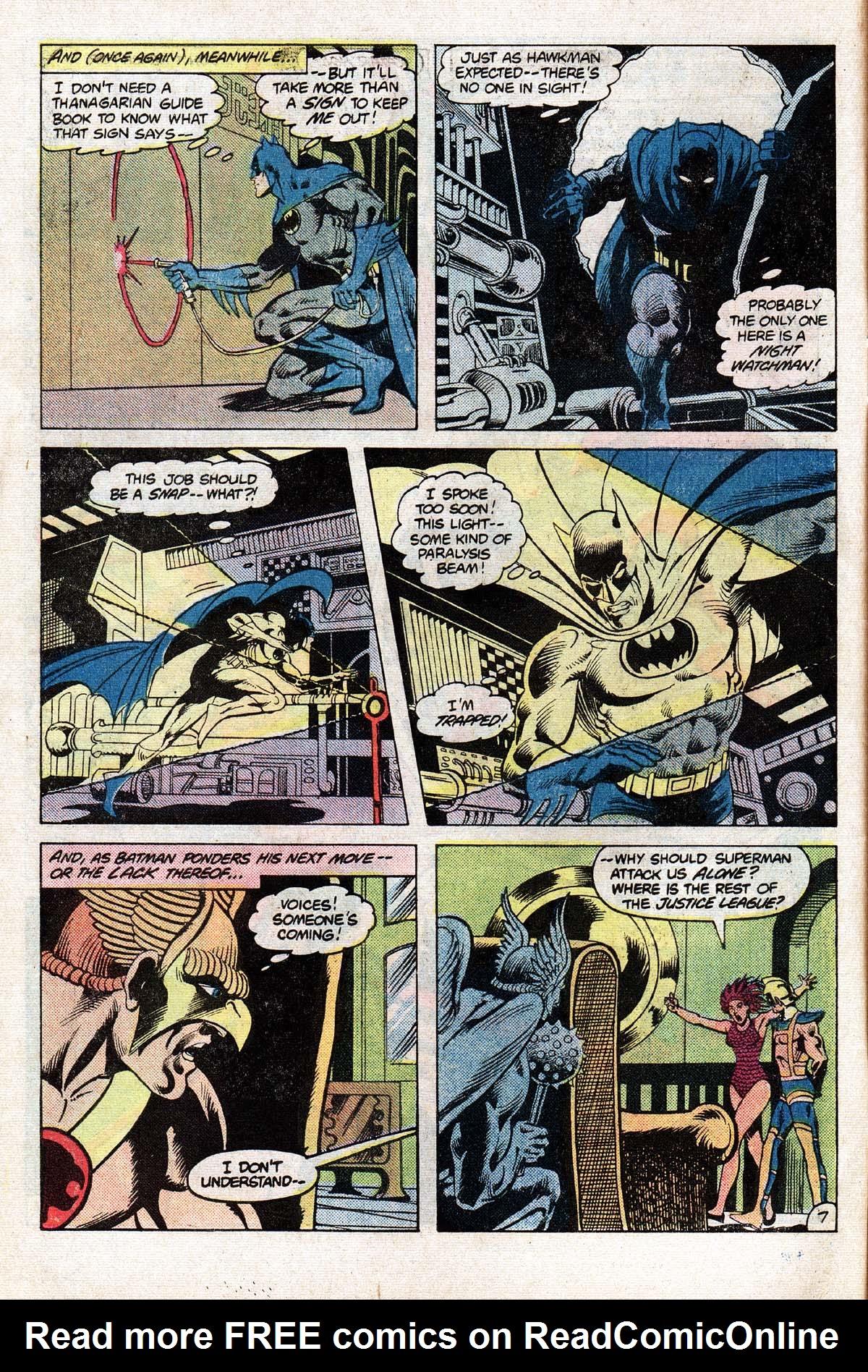 Read online World's Finest Comics comic -  Issue #278 - 8