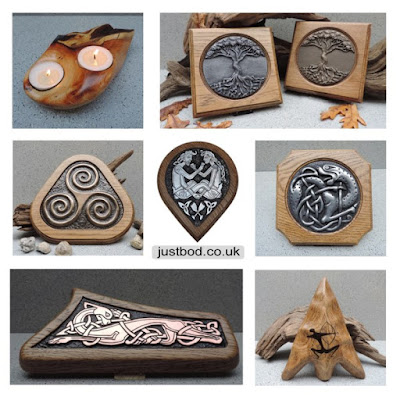 Unique Gifts in Wood from Justbod inspired by history and nature