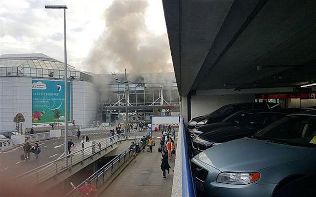 Δύο εκρήξεις στο αεροδρόμιο των Βρυξελλών με πολλούς νεκρούς (video)