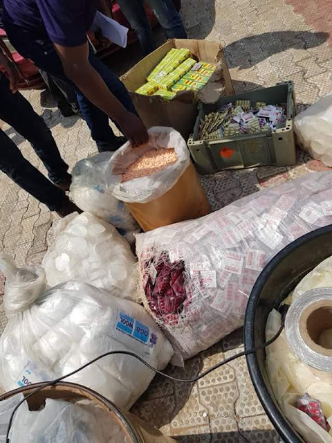 Police recover large quantity of fake and expired drugs pharmaceutical company in Anambra, arrest suspect
