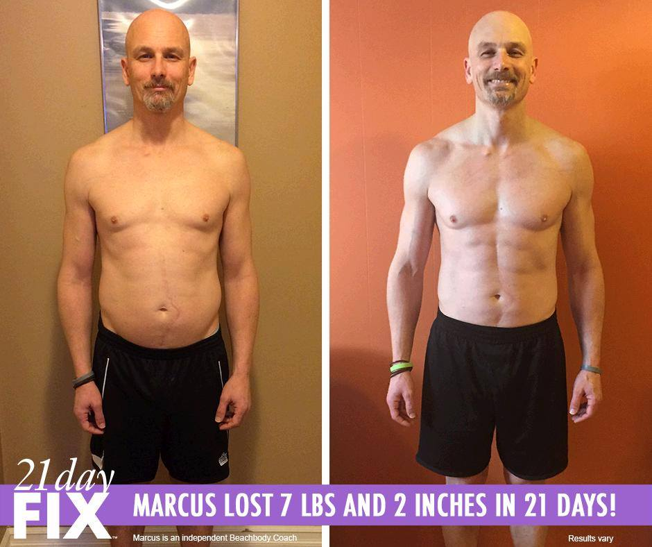 21 day fix transformation results for males timmi park