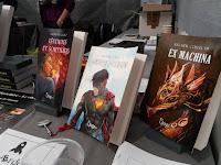 Ocube écoute !; legendes et sortileges; ex machina; superhero; montres à vapeur; elenya; lune ecarlate; steampunk;