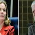 POLÍTICA / WAGNER E GLEISI VISITAM LULA E DESCARTAM CHAPA COM CIRO GOMES