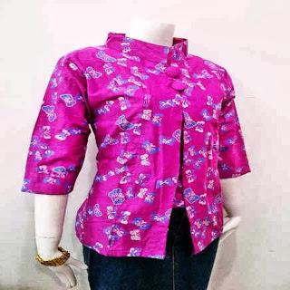 baju batik wanita terbaru 2018