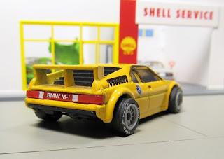 Matchbox yellow BMW M1