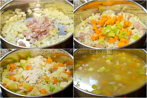 How To Make Creamy Fish Vegetable Soup