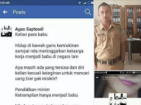Geger! Oknum PNS Hina TKI di Facebook, Netizen Dibuat Geram