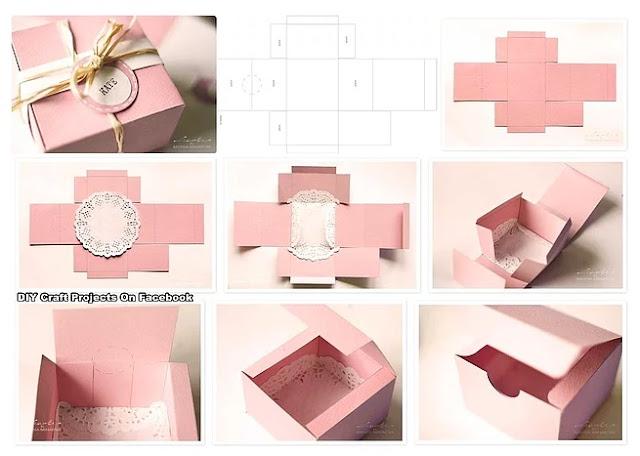 karton kutudan hediye kutusu yapmak