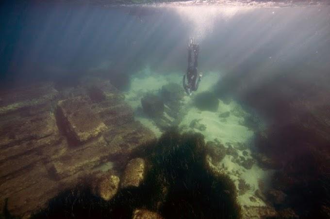 Γαλλία : Τα λείψανα του βυθισμένου ελληνικού λιμανιού της Ολβίας