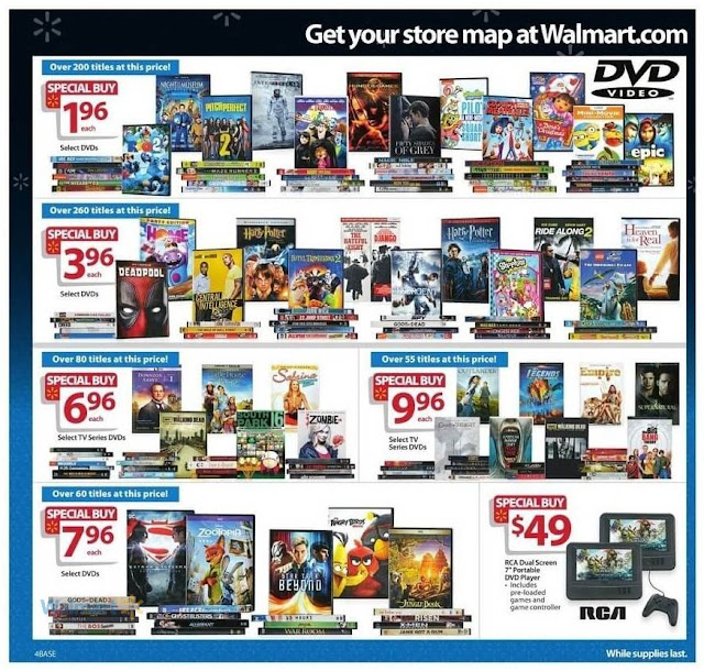 Walmart Black Friday Sale On Hollywood Movies DVD