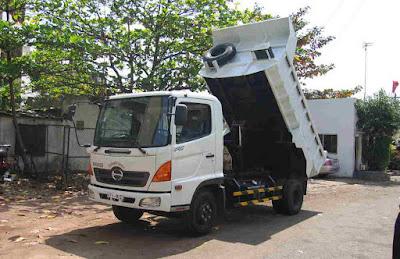 Xe tải ben Hino FC 6 tấn