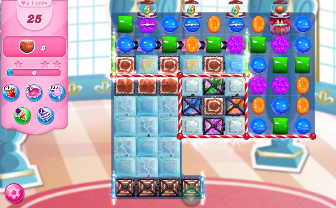 Candy Crush Saga level 5294