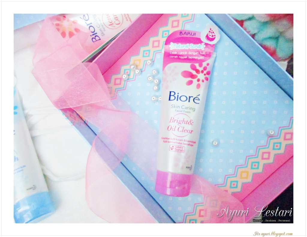 Biore Skin Caring Facial Foam Series Review