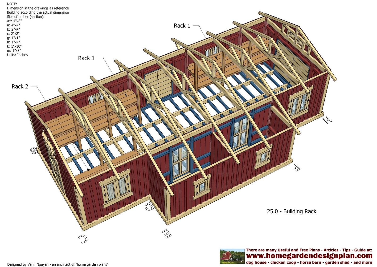 home garden plans: SL300 - Storage Sheds Plans - Garden ...