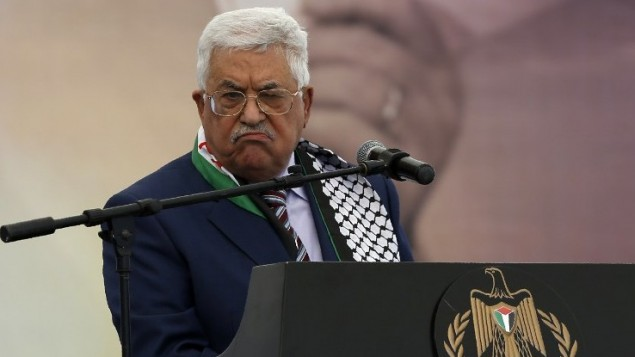 Mahmoud Abbas advierte a Trump