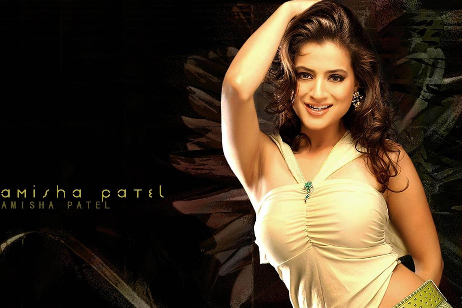 Letest Top 10 Amisha Patel Hd Wallpapers And Backgrounds