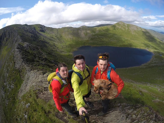 Striding edge, selfie, helvellyn, Best GoPro Accessories for travel & Adventure, which GoPro accesories, go pro, case, mount, GoPro hero 4 silver, 4k, strap, leash, clips, replacement, backdoor, protective cover, bag, wrist, head, chest, floatation, floaty back door, floating handle, sticky mounts, helmet mount, selfie stick, tripod, batteries, memory cards, water droplets on gopro screen, lens,