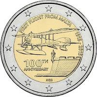 Malta ensilennosta 100 vuotta erikoiseuro