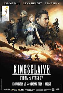 Kingsglaive Final Fantasy XV (2016) BluRay Subtitle Indonesia