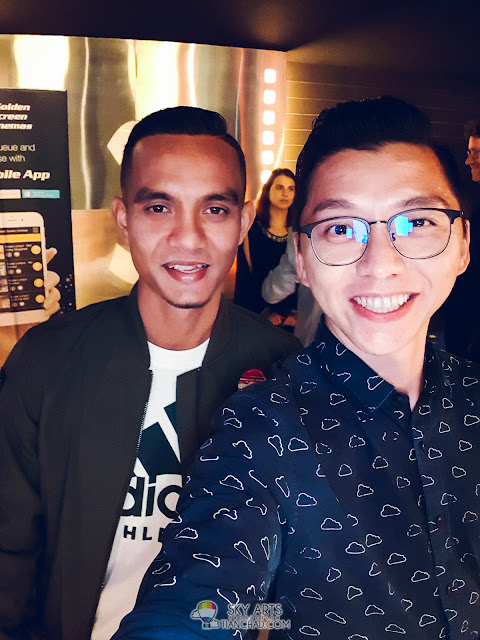 #TCSelfie with Faiz Subri at Hungary Film Fiesta 2018 @ GSC Pavilion KL
