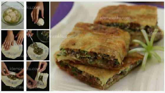 Resep Membuat Martabak Mesir Mini. Praktis, Enak Renyah dan Gurih Nyoyy