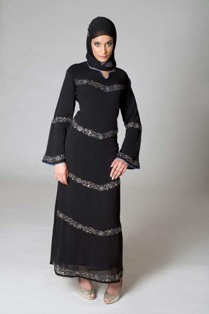 Awesome Fashion 2012 Awesome Saudi Burqa Designs 2012