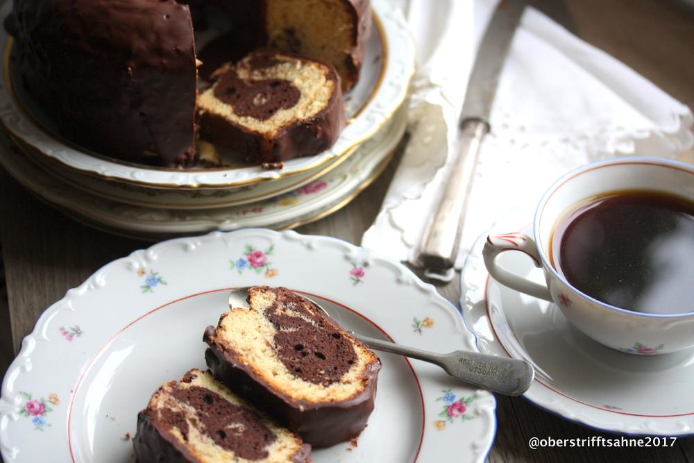 Der Sonntagskuchen: Marmorkuchen mit Baileys