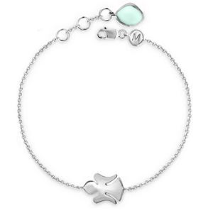 Missoma Sterling Silver Angel Bracelet